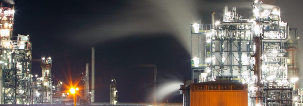 Topside Petroleum plant