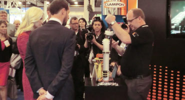 ClampOn stand at OTC 2013