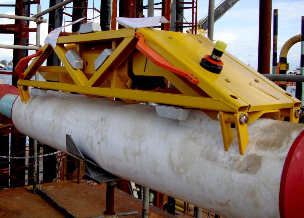 Subsea CEM installed